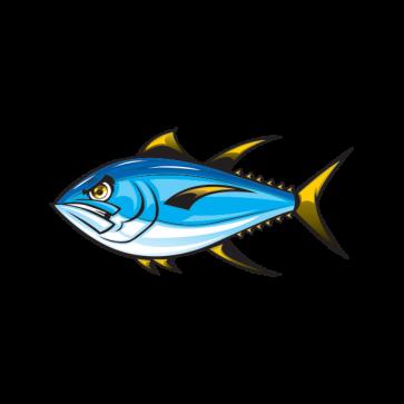 Angry Yellowfin Tuna 06144