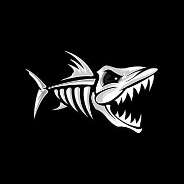 Skeleton Fish Bones Fishbone 06161