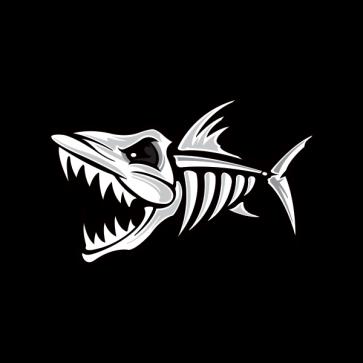 Skeleton Fish Bones Fishbone 06162