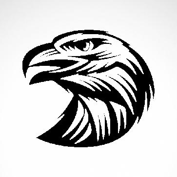 Eagle Head Engrave Style 07154