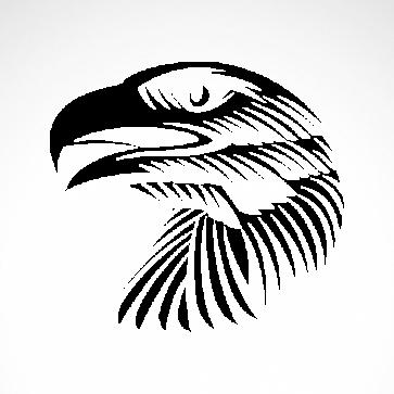 Eagle Head Engrave Style 07205