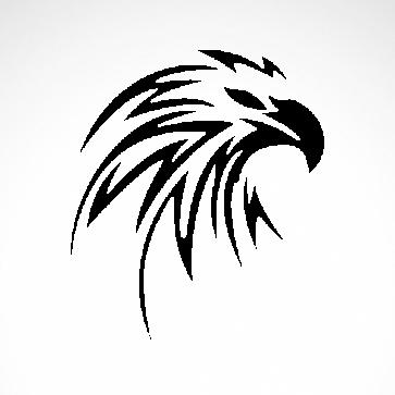 Eagle Hawk Head 07219