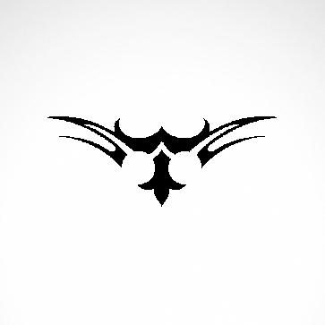 Tribal Design Tatto Style 07401