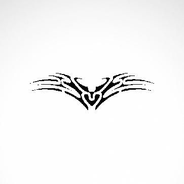 Tribal Design Tatto Style 07407