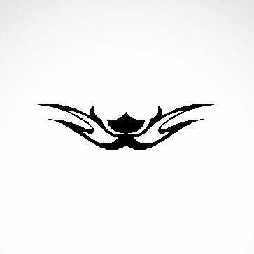 Tribal Design Tatto Style 07410