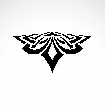 Tribal Design Tatto Style 07415