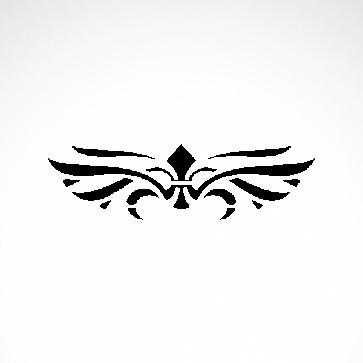 Tribal Design Tatto Style 07419