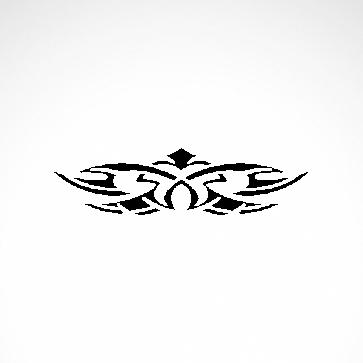 Tribal Design Tatto Style 07420
