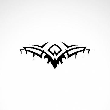 Tribal Design Tatto Style 07426