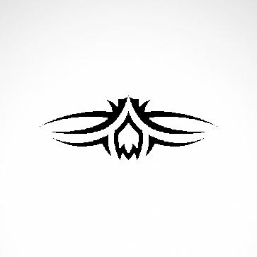 Tribal Design Tatto Style 07427