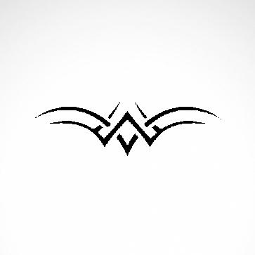 Tribal Design Tatto Style 07430