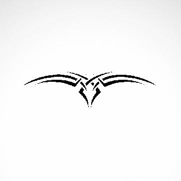 Tribal Design Tatto Style 07432