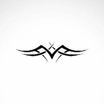 Tribal Design Tatto Style 07433