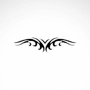 Tribal Design Tatto Style 07436