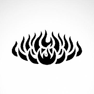 Tribal Design Tatto Style 07438