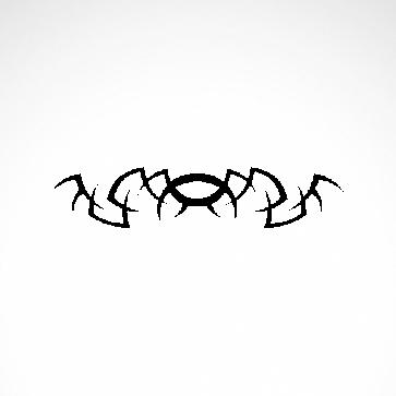 Tribal Design Tatto Style 07441