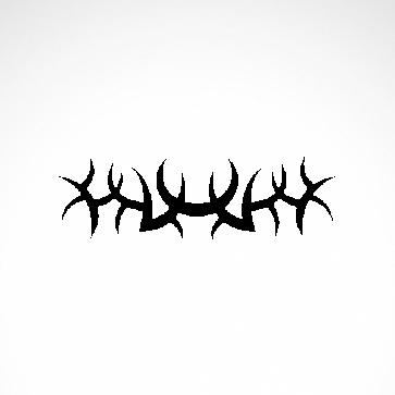 Tribal Design Tatto Style 07442