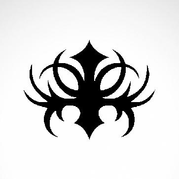 Tribal Design Tatto Style 07444