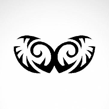 Tribal Design Tatto Style 07449