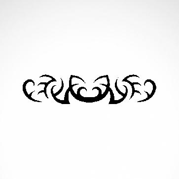Tribal Design Tatto Style 07452