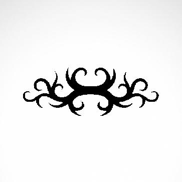 Tribal Design Tatto Style 07453