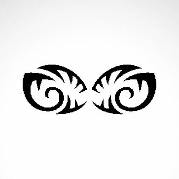 Tribal Design Tatto Style 07456