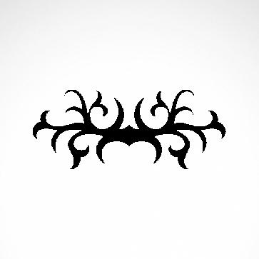 Tribal Design Tatto Style 07457