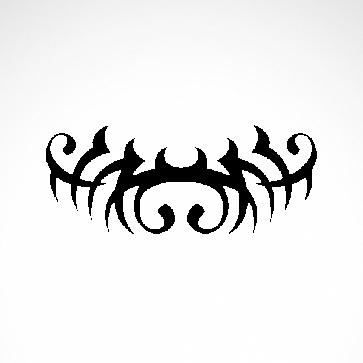 Tribal Design Tatto Style 07458