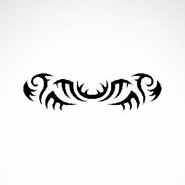Tribal Design Tatto Style 07460