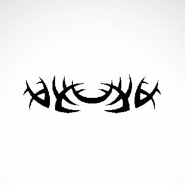 Tribal Design Tatto Style 07462