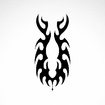 Tribal Design Tatto Style 07466