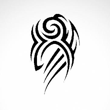 Tribal Design Tatto Style 07470