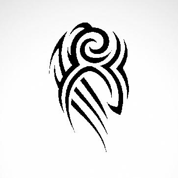 Tribal Design Tatto Style 07471