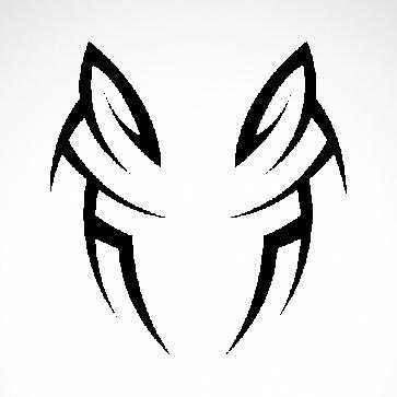 Tribal Design Tatto Style 07472
