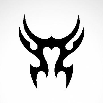 Tribal Design Tatto Style 07476