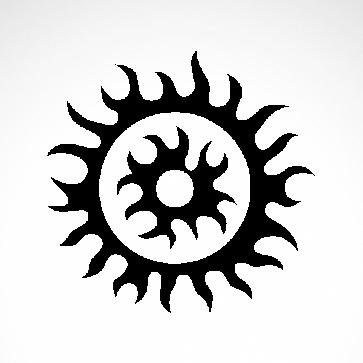 Tribal Design Tatto Style 07480