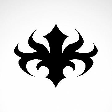 Tribal Design Tatto Style 07481
