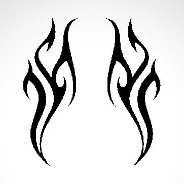 Tribal Design Tatto Style 07482