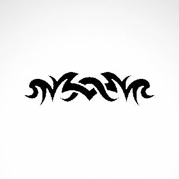 Tribal Design Tatto Style 07487