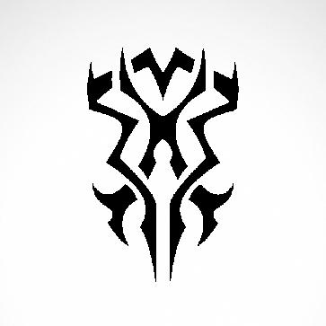 Tribal Design Tatto Style 07496