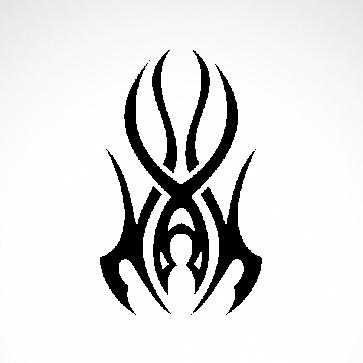 Tribal Design Tatto Style 07497