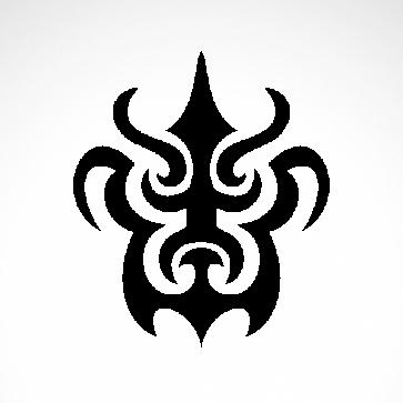 Tribal Tattoo Style 07501