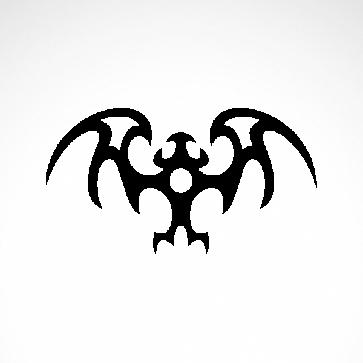 Tribal Bat Small Dragon 07507