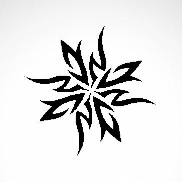 Tribal Tattoo Style 07521