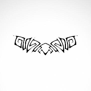 Tribal Tattoo Style 07529