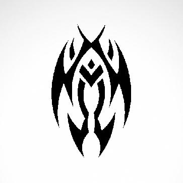 Tribal Tattoo Style 07544