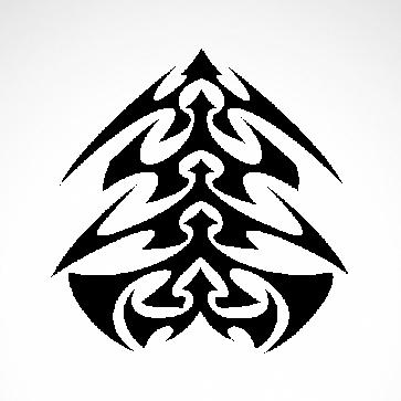 Tribal Tattoo Style 07549