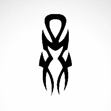 Tribal Tattoo Style 07551