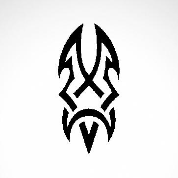 Tribal Tattoo Style 07553