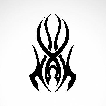Tribal Tattoo Style 07555